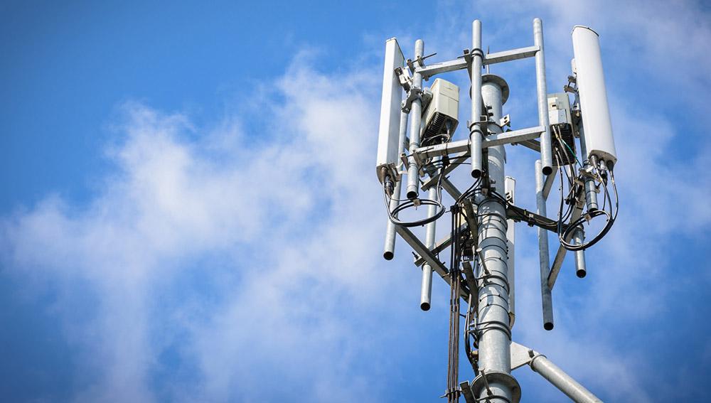 Funkmast für mobiles Internet