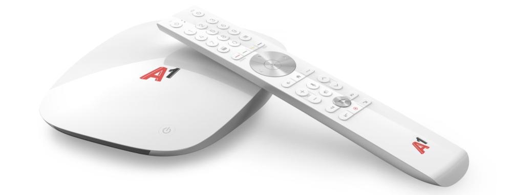 A1 Xplore TV Box samt Bluetooth Fernbedienung