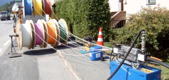 A1 Netzausbau Glasfaser