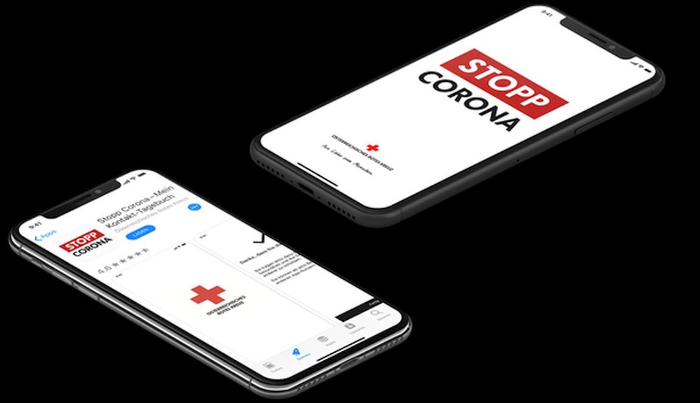 Stopp Corona App Smartphone