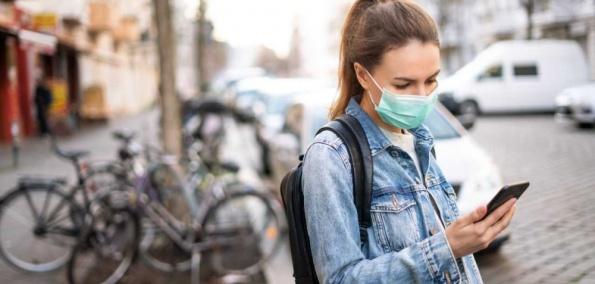Smartphone entsperren Mund Nasen Schutz Trick