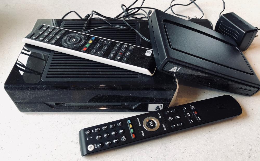 A1 TV alte Box