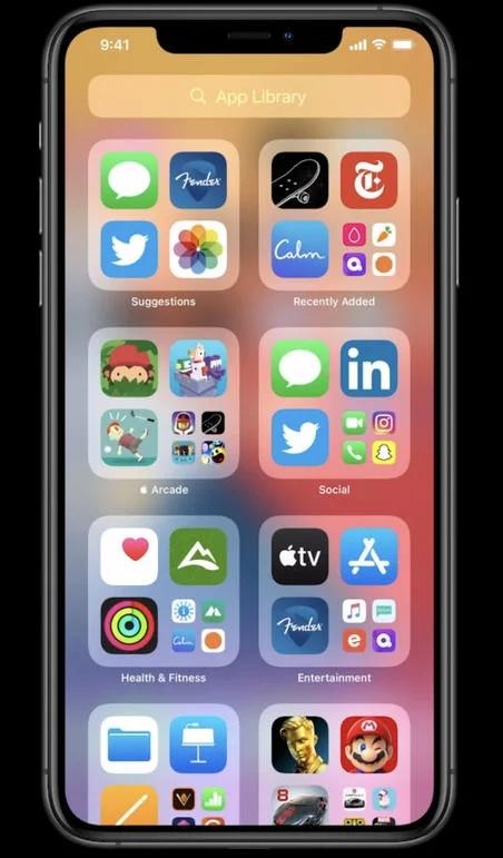 App Library iOS 14