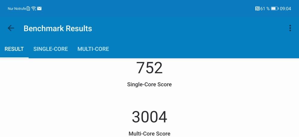 Huawei P40 Pro Test Geekbench