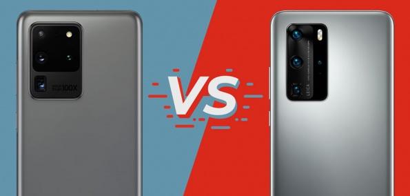 Vergleich Samsung Galaxy S20 Ultra vs. Huawei P40 Pro