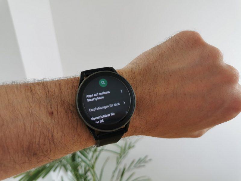 Apps und Spiele für die Smartwatch