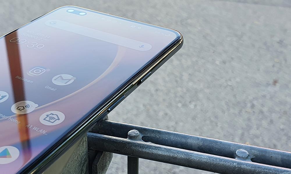 OnePlus Nord 5G Test geriffelter Button