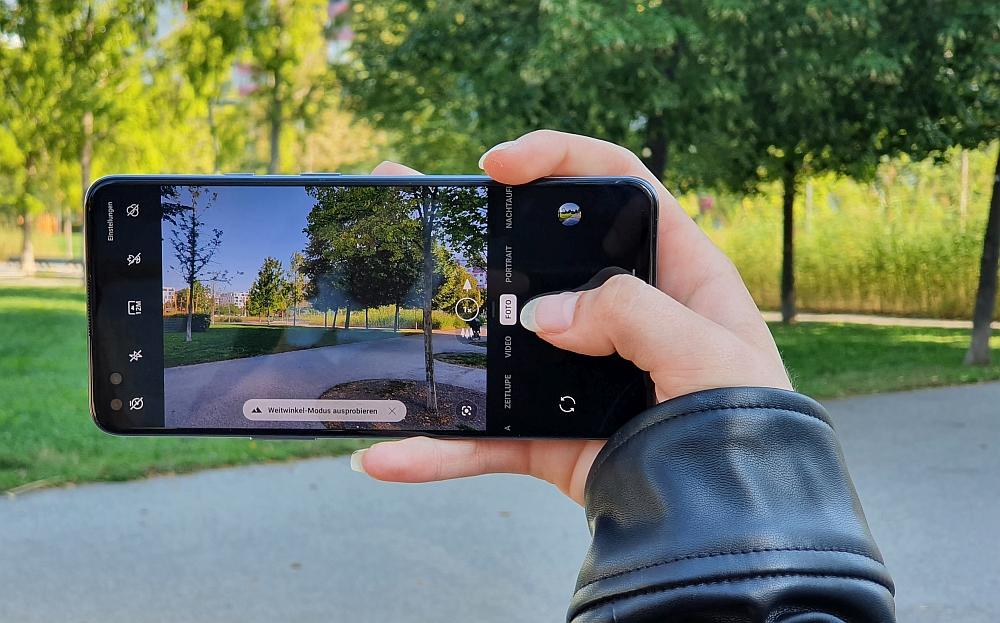 OnePlus Nord 5G Kamera Sucher