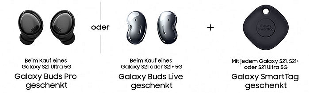 Galaxy S21 Preorder Vorbnestellung Galaxy Buds SmartTag