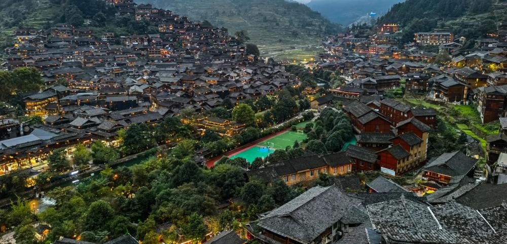 Huawei Mate 40 Pro Kamera Aufnahme chinesisches Dorf