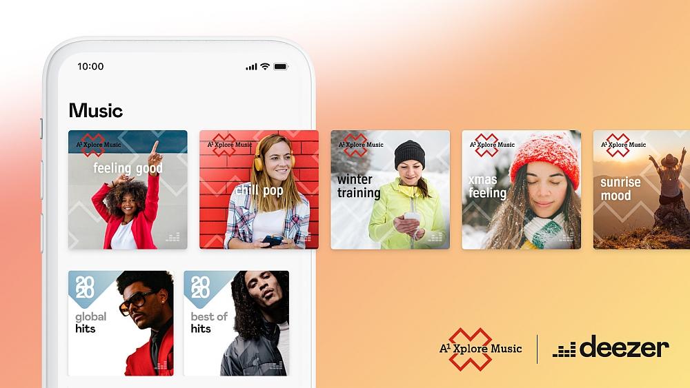 A1 Xplore Music by deezer - Logo