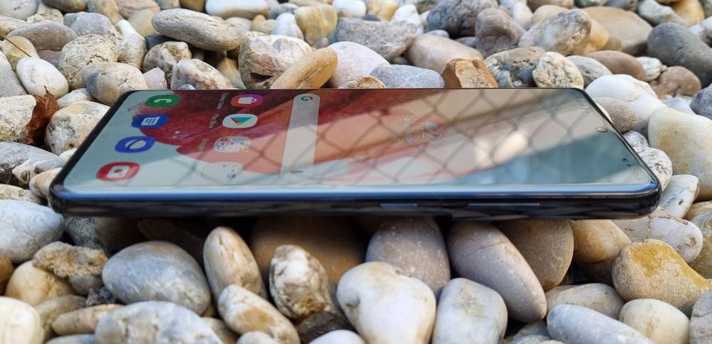 Samsung Galaxy S21 Ultra seitliche Ansicht
