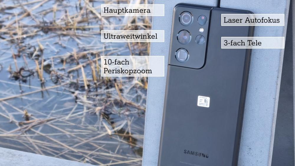 Galaxy S21 Ultra Kamera System