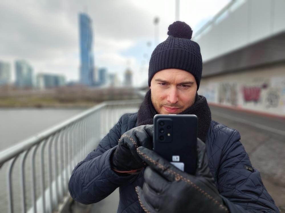 Galaxy A72 Test Portrait Modus