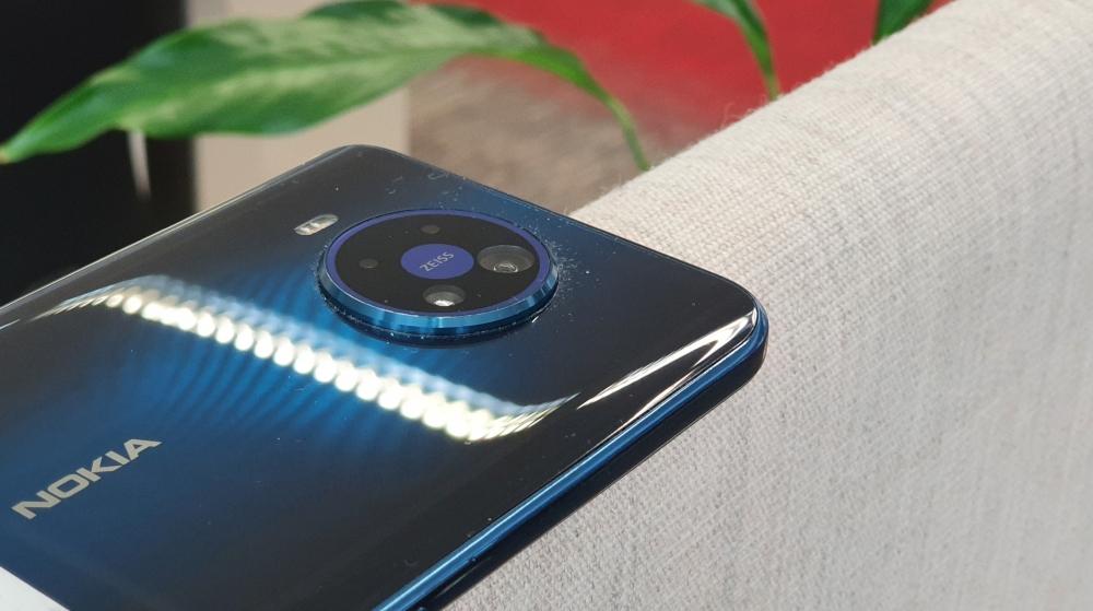 Nokia 8.3 Smartphone Rückseite