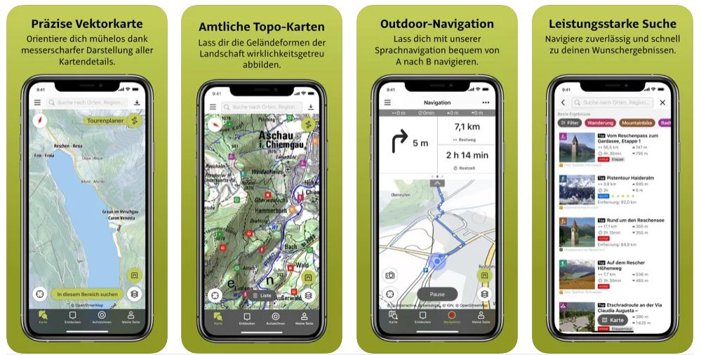 Outdooractive App