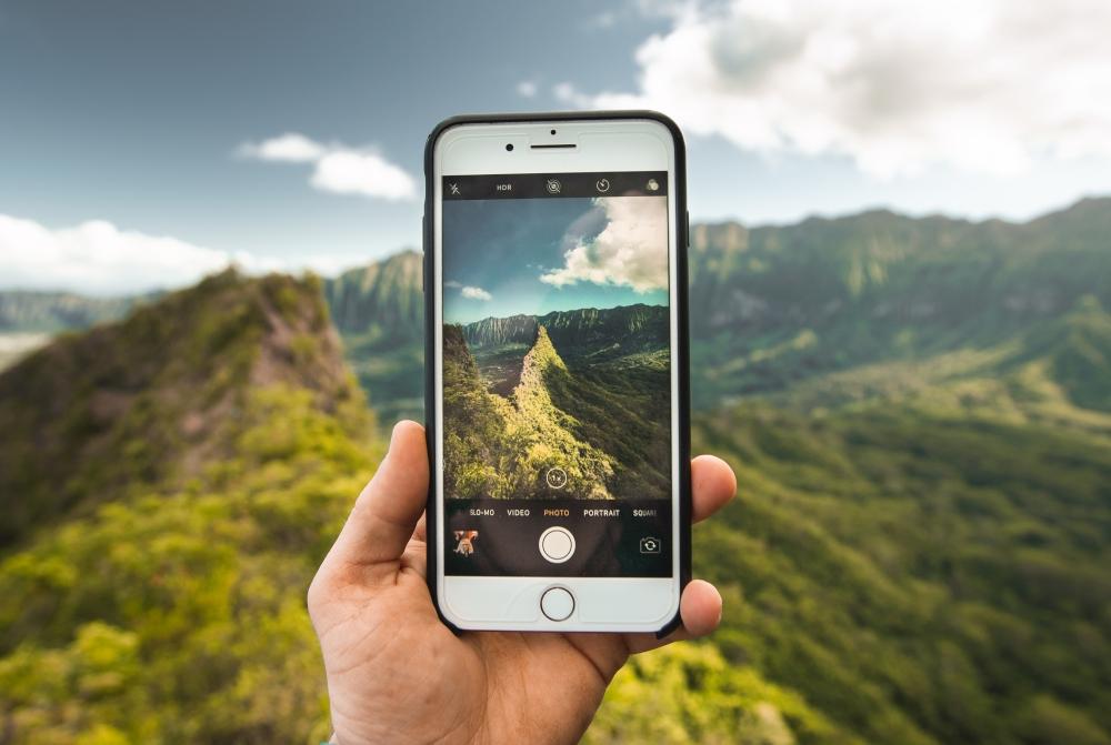 Smartphone Foto Outdoor