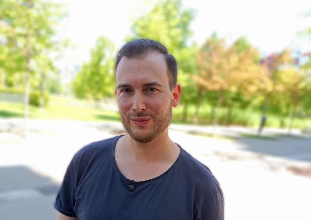 Portraitaufnahme junger Mann