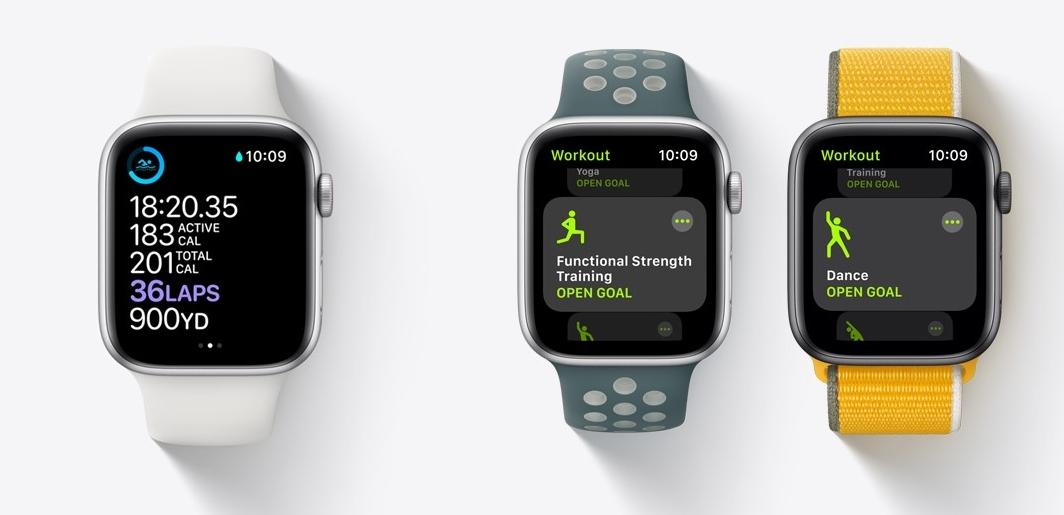 Apple Watch sportliche Aktivität App
