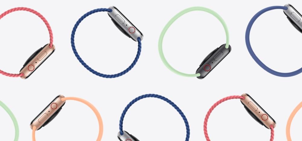 Apple Watch unterschiedliche Armbänder