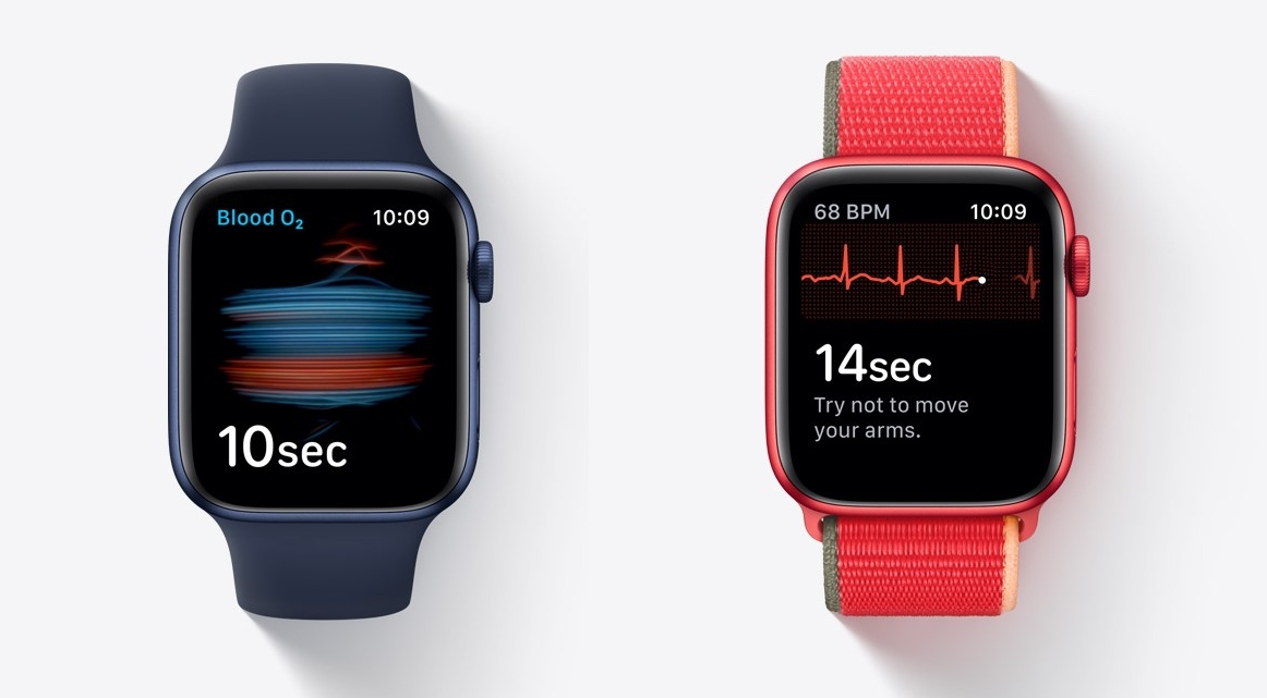 Apple Watch Series 6 mit Gesundheits-Apps