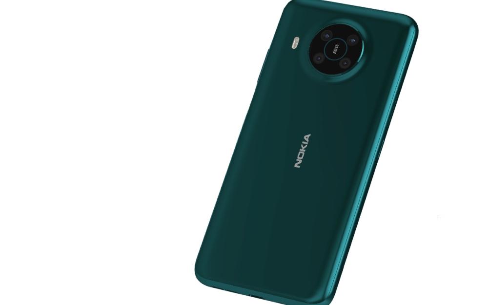 Nokia X10 Smartphone Rückseite mit Kameramodul