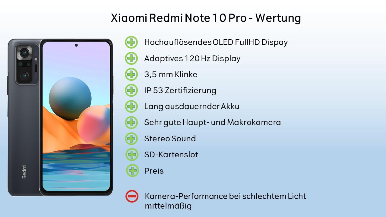 Xiaomi Redmi Note 10 Pro Lesitung Fazit