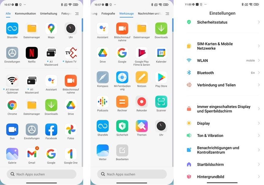 Xiaomi Redmi 10 Pro UI