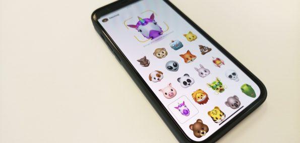Einhorn-Memoji auf dem iPhone 12 Pro Max